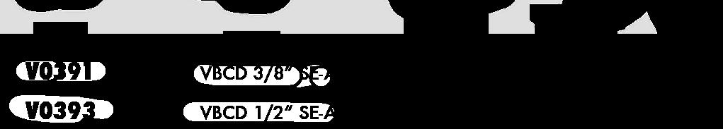 Параметры тормозного клапана одностороннего действия для закрытого центра VBCD SE/А CC